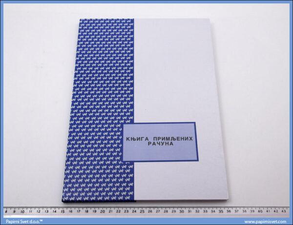 Knjiga primljenih računa tp A4