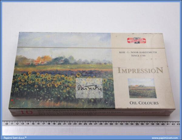 Uljane boje u setu 161603 Impression, Koh-i-noor