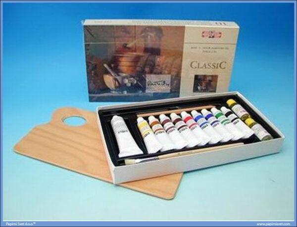 Uljane boje u setu 161604 Classic, Koh-i-noor