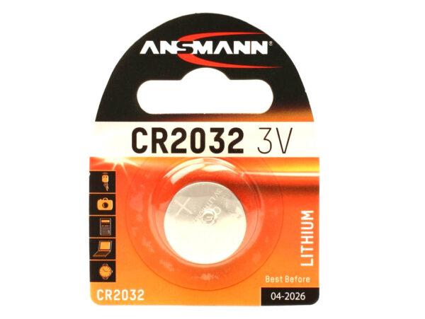 Baterija lithium 3V 2032, Ansmann