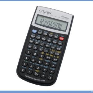 Tehnički Kalkulator-Digitron sa funkcijama SR-260N, Citizen