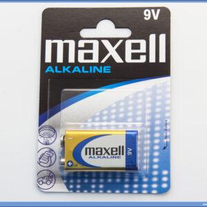 Baterija 9V alkalna, Maxell