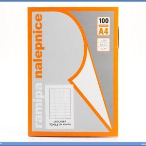 Etikete 70x16.9mm 100 listova, Ramipa