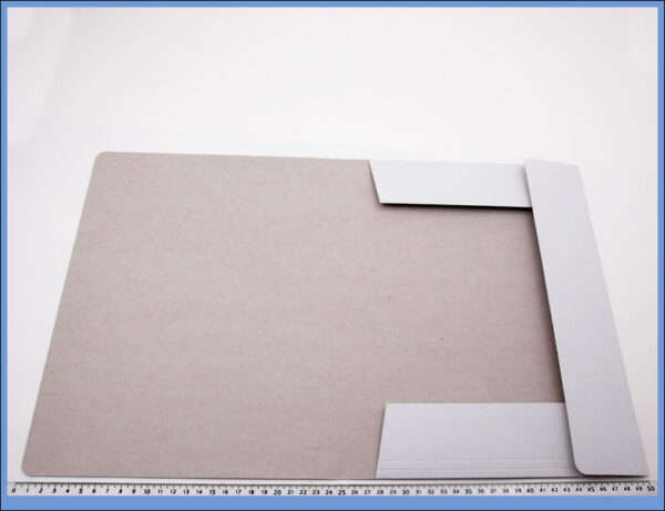 Fascikla kartonska A4 bela