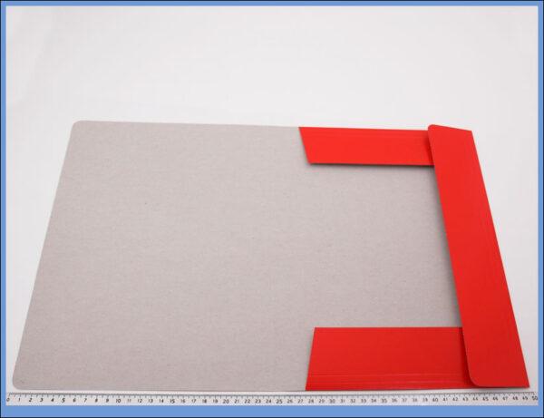 Fascikla kartonska A4 crvena