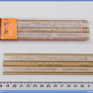 Šabloni slova 25mm, Koh-i-noor
