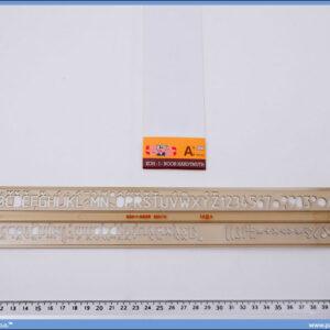 Šabloni slova 10mm, Koh-i-noor