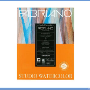Slikarski blok 200gr 229x305mm ACQUARELLO WATERCOLOUR STUDIO 75 listova FABRIANO