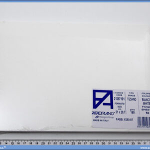 Karton A4 160gr. beli 1/50, Fabriano