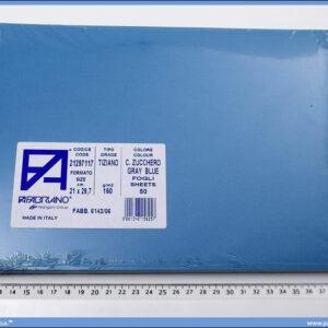 Karton A4 160gr. plavo sivi 1/50, Fabriano