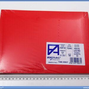 Karton A4 160gr. jarko crveni 1/50, Fabriano