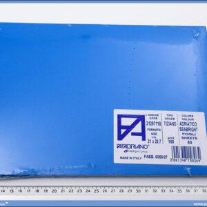 Karton A4 160gr. morsko plavi 1/50, Fabriano