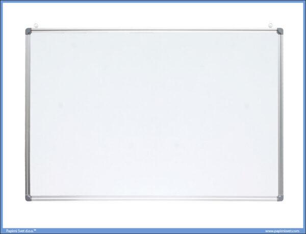 Bela tabla magnetna 90x120cm aluminijumski okvir, Optima