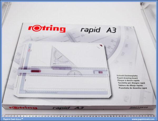 Tabla za tehničko crtanje A3, Rotring