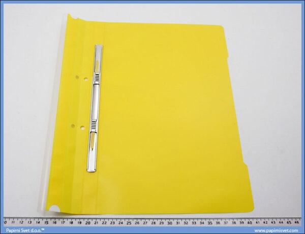Fasikla sa mehanizmom, žuta PVC, Norex