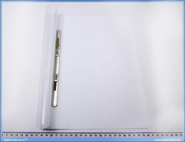 Fasikla sa mehanizmom, bela PVC, Norex