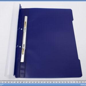 Fascikla sa mehanizmom, plava PVC, Norex