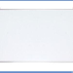 Bela tabla magnetna 60x90cm aluminijumski ram, Optima
