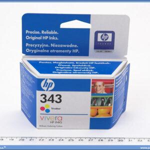Kertridž za inkjet HP 343 tricolour 7ml.
