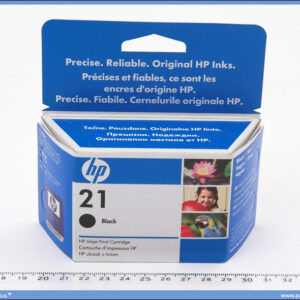 Kertridž za inkjet HP 21 black 7ml.