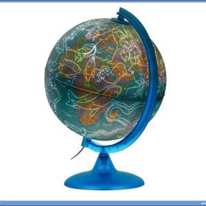Globus lampa 25cm CAMALEONTE