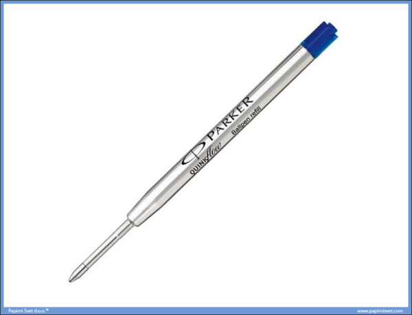 Uložak za hemijsku olovku Parker plavi Ball Point F fine, Parker