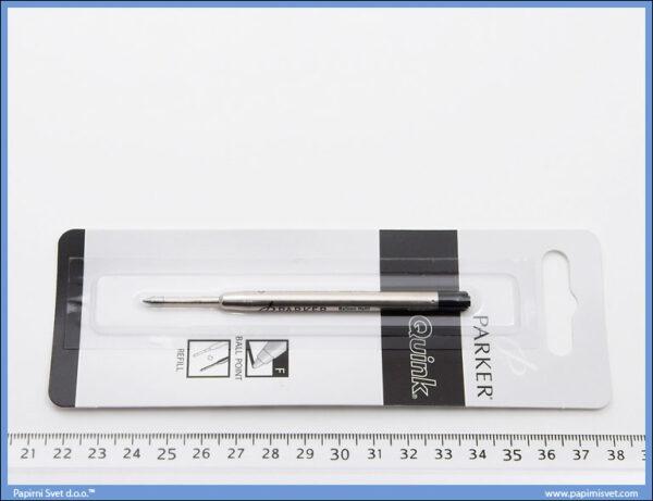 Uložak za hemijsku olovku Parker crni, Parker