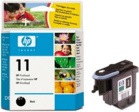 HP No.11 Black Printhead za plot.70/100/110/500/800/815mfp/cp1700/fK850,Bus1000[C4810A] (16000str.)