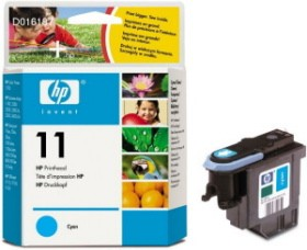 HP No.11 Cyan Printhead za plot.70/100/110/500/800/815mfp/cp1700/Off.J. Pro K850,Buss 1000 [C4811A]
