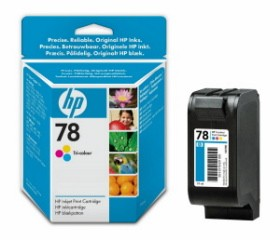 HP No.78 Tri-Colour Inkjet Print Cartridge (19ml) [C6578DE] Standard capacity