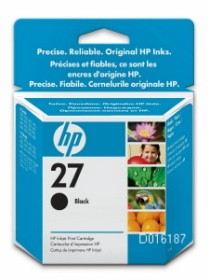 HP No.27 Black InkJet Print Cartridge [C8727AE]