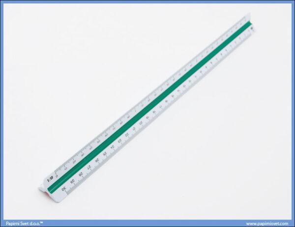 Razmernik lenjir tehnički PVC, Stadetler