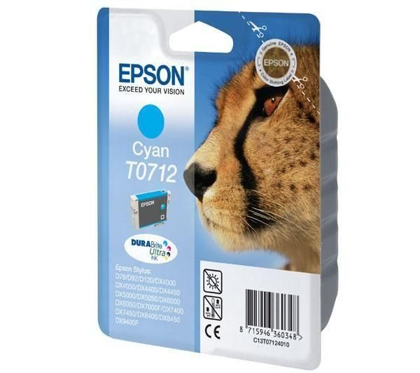 Epson kertridž cyan T071240