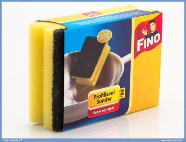 Sunđer kuhinjski 2in1, Fino