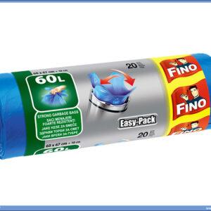 Kese za smeće 60L EASY PACK 60x66cm 1/20, FINO