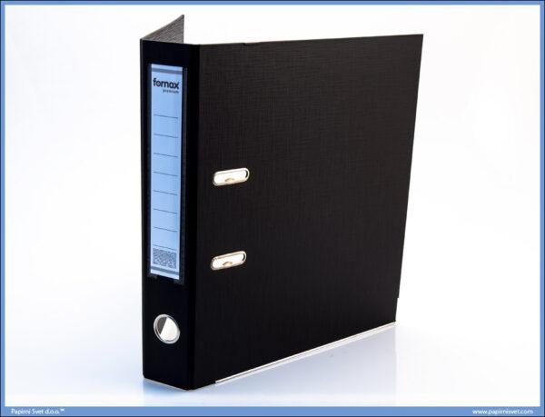 Registrator samostojeći PVC USKI CRNI, Fornax