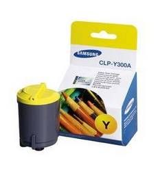 Samsung CLPY300A Yellow Toner Cartridge, Samsung CLP-Y300A
