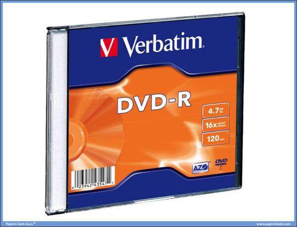 DVD-R 16X 4.7GB 120min, Verbatim