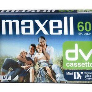 Kaseta miniDV za kameru DVC 60min Maxell
