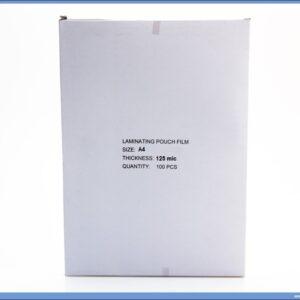 Folija za plastifikaciju A4 125mic mikrona 1/100