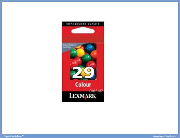 Lexmark cart. color 018C1429E No. 29