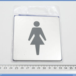 Piktogram Ženski Toalet