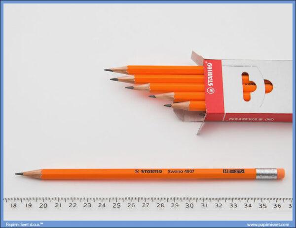 Grafitna olovka HB sa gumicom, Stabilo