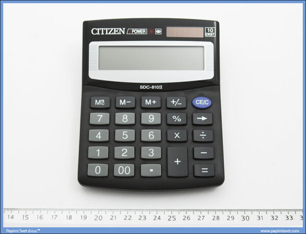Kalkulator-Digitron stolni sdc-810II, Citizen