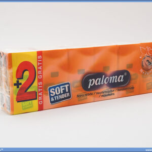 Maramice papirne 1/10 Paloma 3sl.