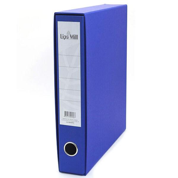 Registrator uski-6cm A4 Lipa Mill plavi