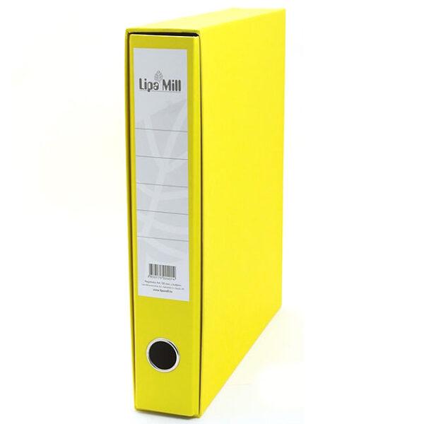 Registrator uski-6cm A4 Lipa Mill žuti