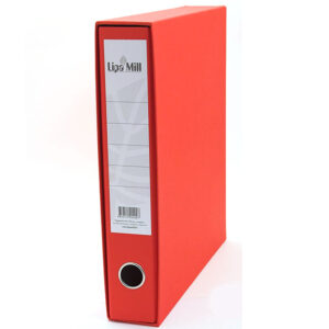 Registrator uski-6cm A4 Lipa Mill crveni