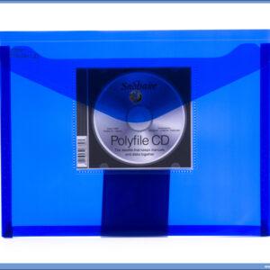 Fascikla PVC A4 sa CD uloškom, Snopake RASPRODAJA