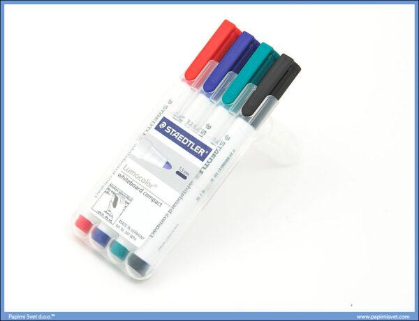 Flomasteri za belu tablu set 1/4 -tanki-, Staedtler